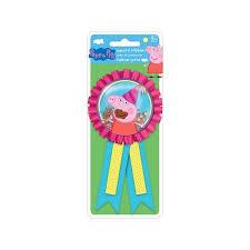 peppa pig ribbon peppa pig award ribbon party supplies walmart