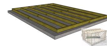 floating floor concrete