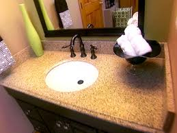 Granite For Bathroom Vanity Replacing A Vanity Top How Tos Diy