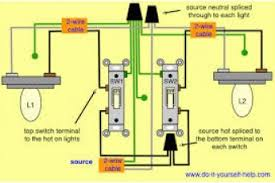 wiring diagram one switch two lights wiring wiring diagrams