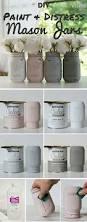 Folk Art Home Decor Chalk Paint How To Paint And Distress Mason Jars Distressed Mason Jars
