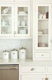 Kitchen With Glass Cabinet Doors Amelia Brightsides White Dishes Dishes And Kitchens