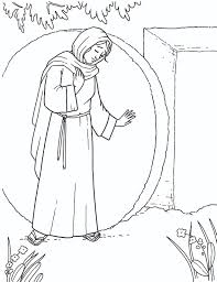 palm sunday coloring pages primary coloring page mary at the empty tomb lds mormons