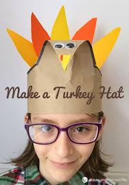 thanksgiving turkey hat simple and turkey hat craft for thanksgiving