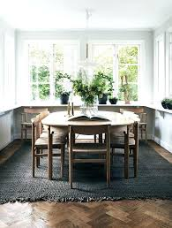what size rug under dining table best rug for under dining table landlinkmontana org