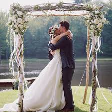 wedding arch log decorative birch wedding chuppah pergola decorative birch