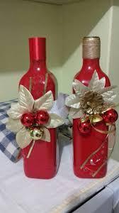 enfeites de natal com garrafas diversos pinterest bottle