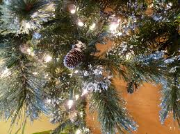 stunning design martha stewart artificial tree sparkling