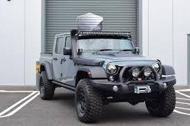 jeep wrangler pickup black used 2017 jeep wrangler 3 6 black mountain rubicon double cab pick