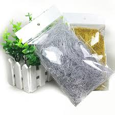 gift box tissue paper 10g pack 8 colors foil silk raffia shredded crinkle paper basket