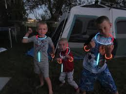 ockey family adventures camping in the backyard
