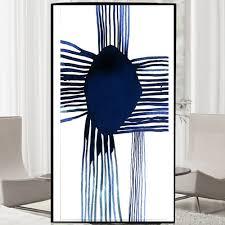 abstract art 5d diy diamond embroidery tv backdrop stripes
