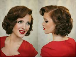 image result for easy 1940s hairstyles for short hair hairstyles