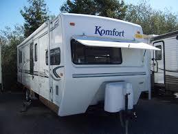 Komfort Travel Trailer Floor Plans 2004 Komfort Komfort 27 Travel Trailer Petaluma Ca Reeds Trailer