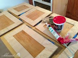 Build Kitchen Cabinet Doors Plywood Strips To Update Cabinet Doors House Projects