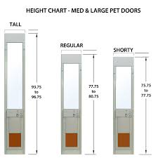 patio doors with dog door built in power pet electronic pet door for sliding glass patio doors