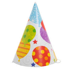 party hats party balloon party hats 8ct
