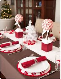 Make Table Decoration For Christmas by How To Decorate A Table For Christmas Easyday