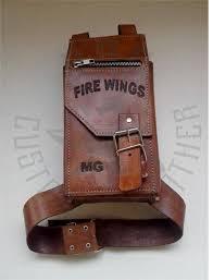 handmade leather leg bag leather motorcycle bag leather leg