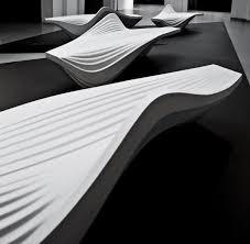 zaha hadid philosophy serac bench for lab 23 zaha hadid architects arch2o com