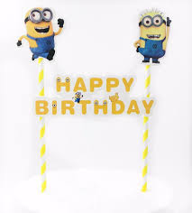minions cake toppers minion cake topper