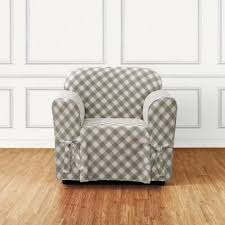 grey chair slipcovers buy sure fit slipcovers from bed bath beyond