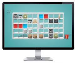 pc bureau avec ecran ikea réorganise votre bureau dans ses étagères geeko