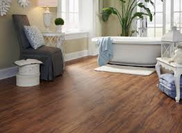 Tranquility Resilient Flooring Golden Teak Vinyl With A Handscraped Feel Click Together For A