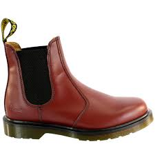 womens ankle boots in size 12 ladiess dr martens airwair leather chelsea style low heel ankle