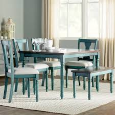 dining room sets for 6 6 piece kitchen dining room sets you ll love wayfair