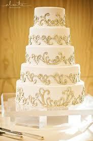 gold wedding white u0026 gold wedding cakes 2173048 weddbook