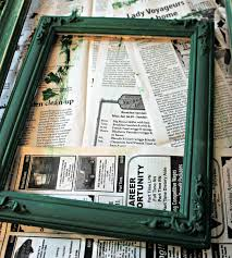 Christmas Tree Picture Frames Organized Clutter Repurposed Thrift Shop Picture Frame Christmas Tree