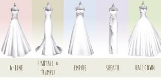 different wedding dress shapes find your favorite dress wedding for south