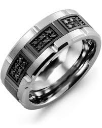 black metal rings images Wedding rings for men the complete guide madani rings jpg