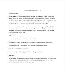 13 catering business plan templates free sample example format