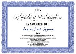 sample certificate of attendance