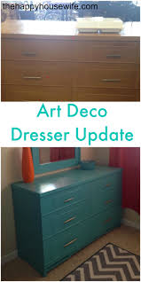 updated art deco dresser diy the happy housewife home management