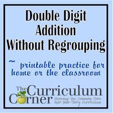 2 digit addition worksheets no regrouping 4 quad graph decimals