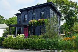 restyling a garden house paint it black blog roger chris