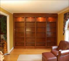 Bookcases With Lights Free Plans For Building A Bookcase Home Design Ideas
