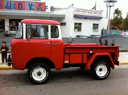 red jeep red jeep fc 150