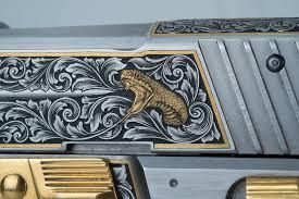 gold inlay engraving engraved sig sauer p226 viljo marrandi and engraving