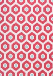 Ikat Indoor Outdoor Rug by Geode Ikat Watermelon And Aqua W80376 Collection Calypso From