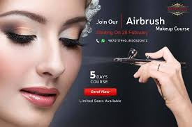makeup classes airbrush makeup classes at meribindiya noida