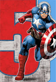 captain america musical 5th birthday card greeting cards hallmark