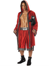 mens boxing costume everlast boxing costume for halloween