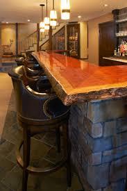 basement bar top ideas wooden bar tops natural wood bar top design ideas pictures
