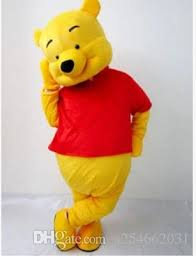 classical style lovely tigger winnie pooh mascot costume