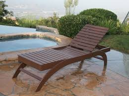 Outdoor Wood Chaise Lounge Brown Wooden Chaise Lounge Chair The Best Wood Furniture