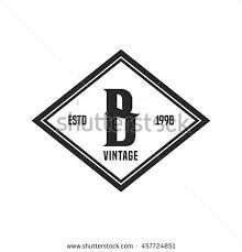 monogram letter b monogram letter b stock images royalty free images vectors